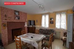 EU (76260)près Mers-les-Bains et le Tréport, maison occupée sans rente