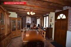 HENIN-BEAUMON (62110) Maison occupée sans rente